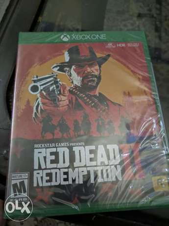 Read Dead Redemption II For Xbox One new & sealed