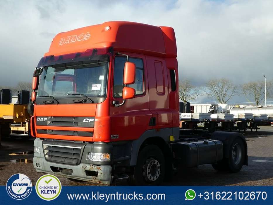 DAF CF 85.410 spacecab 653 tkm - 2010
