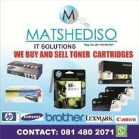 Wanted :New Toners & Ink Cartridges