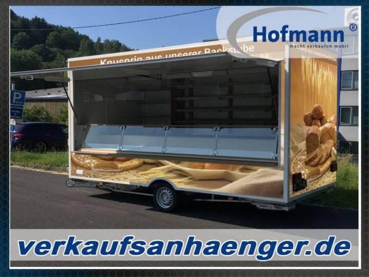 Hofmann backwaren-anhänger 450x223x230 cm - 2018