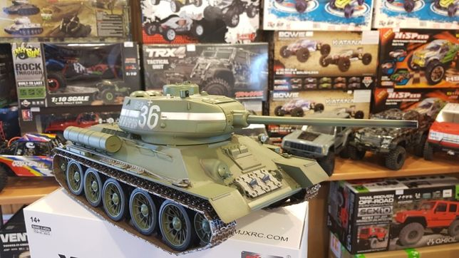 Czołg Zdalnie Sterowany T34 Rudy102 Sklep Poznań Ul
