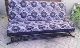 Double bed sleeper couch