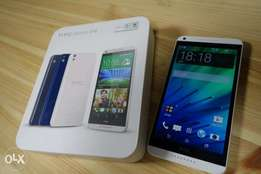Brand new sealed HTC Desire 825 16GB in a shop, a galss prtectr