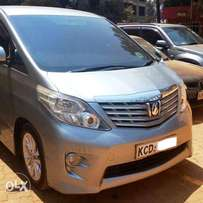 Toyota Alphard Year 2008 Model Automatic 7 Seater Beige Color KCD