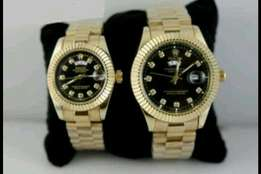 The Rolex couple watch