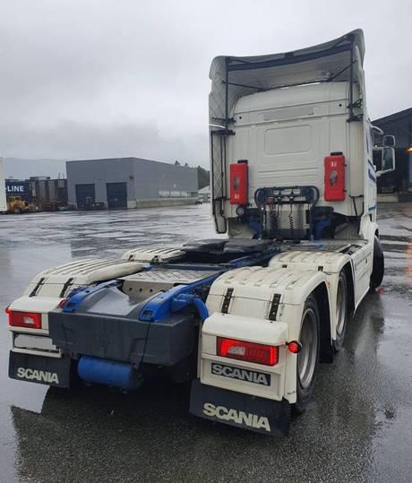 Scania R580 6x4 - 2016