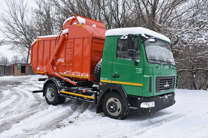 Maz new at 2132 na shassi  4371n2 garbage truck - 2019