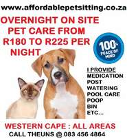 Pet Sitter and House Sitter : Goodwood to Durbanville