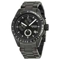 Fossil Chronograph Black Ion plated watch