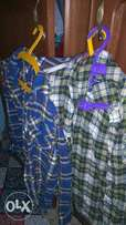 A lovely lumber boys shirt for sale for ages 10-12