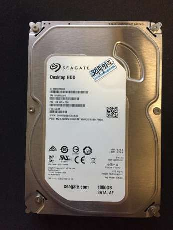 "Seagate 1TB 3.5"" Hard Drive Morningside - image 1"