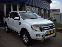 2015 FORD RANGER 3.2 double cab hi-rider xlt 91000km (m) R334950