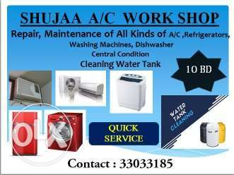 All kind of a.c repair and services