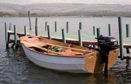 Motor, Sailing and rowing. Nesting Pram ideal for Yacht tender