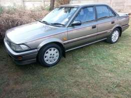Toyota Corolla 1.6GL 1986 for sale R18000