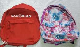 School bags and laptop bags