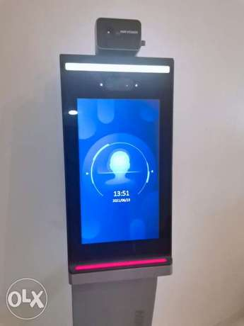Access control, face recognition terminal and temperature measurement