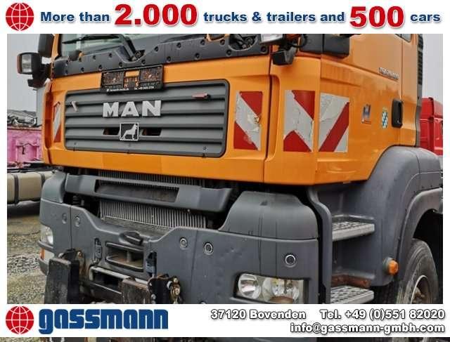 MAN Tga 28.400 6x4-4 Bl Lift-/lenkachse, - 2007