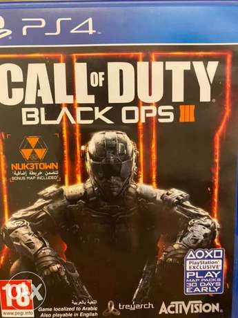 Call of Duty Black Ops 3 game for PS4 and more games