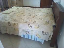 This is a nice furnished house for rent in an estate in shanzu