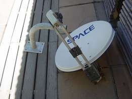 DSTV Dish with Bracket