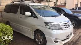 Toyota Alphard Asian Lady Owner