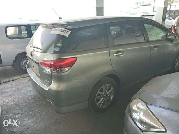 Choices of Black n Silver Toyota Wish 2010 KCP number Mombasa Island - image 8