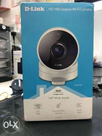 Smart Wifi Cam Dlink Wide Angle 180 degree