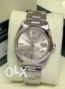 Rolex stainless style Oyster Perpetual Date just used good condition