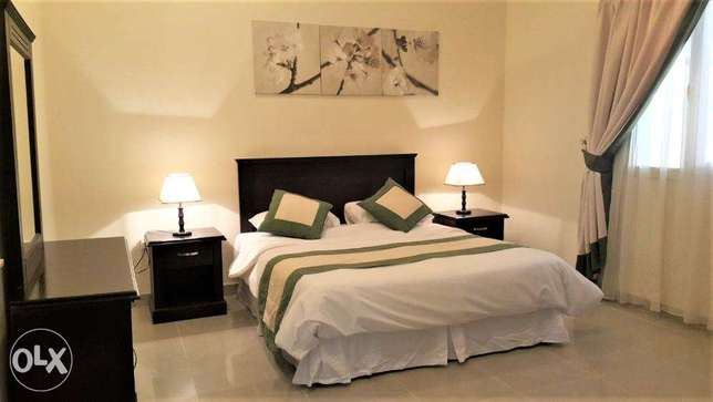 1 bhk F/F 5500qr WEST BAY- Jelaiah area- Monthly or yearly contract