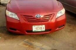 Super camry 2007 model new arrive Red for N3m