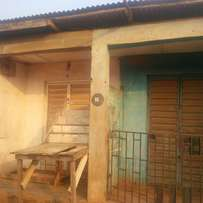 3bedroom flat completed with water on half plot of land