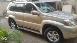 Well Maintained Nig Used 2007 Lexus GX 470 With Navigation Rev Camera