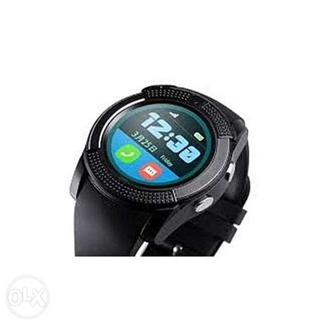 "V8 1.22"" Round Screen MTK6261 IP65 Android Bluetooth Smart Watch With Nairobi CBD - image 3"