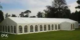13 Panasonic AC 3tonnes . Marquee 40ft by 20ft