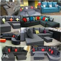 6 Seater hardwood sofas* free delivery