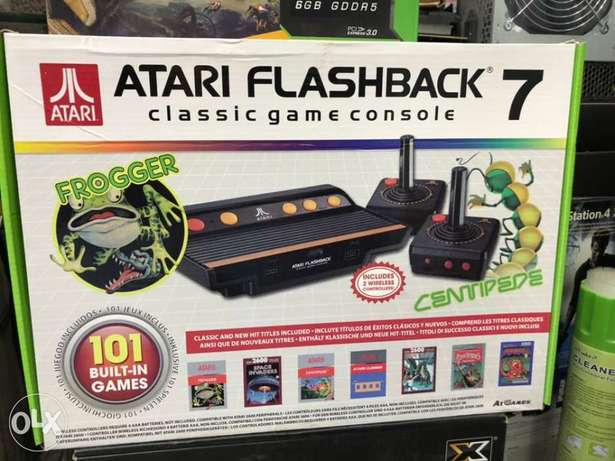 Atari Gaming Console Flash back 7