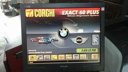 Corghi exact 60 plus wheel alignment system for sale