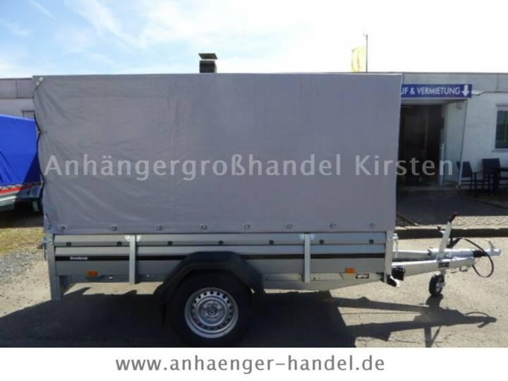 Brenderup 2260 S +Hochplane+Klappe vorne 750u002F1300kg - 2019