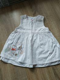 033654a0e9 Sukienka Disney chrzest next hm Zara coccodrillo mayoral ff Ca smyk