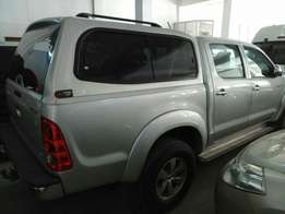 Toyota Hilux double cab 2010 model. KCM number. Loaded with alloy ri