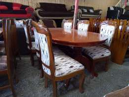 55k for a six seater mahogany dinning table, oval, Rectangular, round