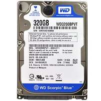 320 GB Laptop Hard drive with External Case