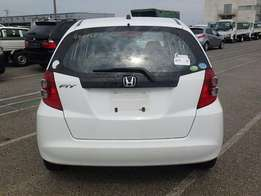 Honda Fit, White