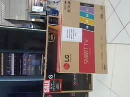 55'' LG SUHD TV with free 43'' led