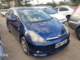 Toyota wish extremely clean. Buy and drive