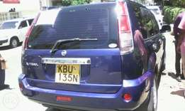 Nissan Extrail with sunroof