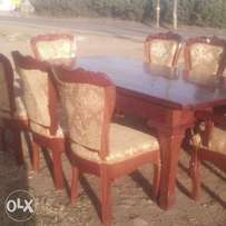 8 seaters ring 2 mahogany table