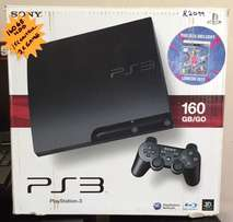 Sony PS3 Package with Games and original box
