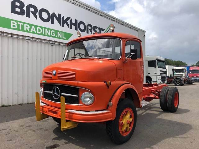Mercedes-Benz 322 Chassis - 1967 - Right Hand Drive - 4791 - 1967